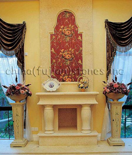 Fireplace, Stone Fireplace