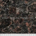 granite counter, granite Tan Brown