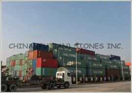 Xiamen granite, Xiamen seaport