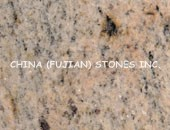 Granite countertop, Kashmir Gold