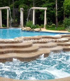 china stone, granite, Rustic Yellow granite