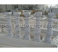 marble baluster, marble balustrade