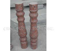 granite baluster, granite balustrade